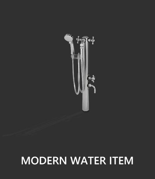 混合シャワー水栓柱ペットシャワー